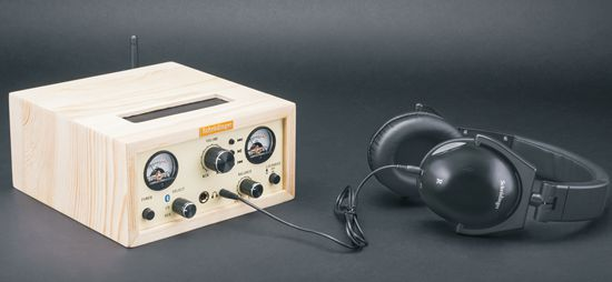 Schrödinger Audio High Performance Vacuum Tube Headphones Amplifier
